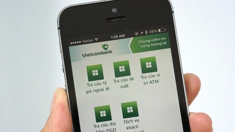 Vietcombank triển khai tính năng thanh toán vé tàu, xe trên VCB - Mobile B@nking