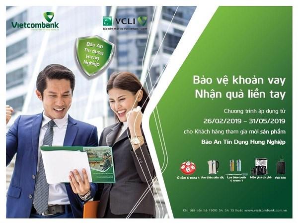 """""""Bảo vệ khoản vay – Nhận quà liền tay"""" cùng Vietcombank - Cardif"""