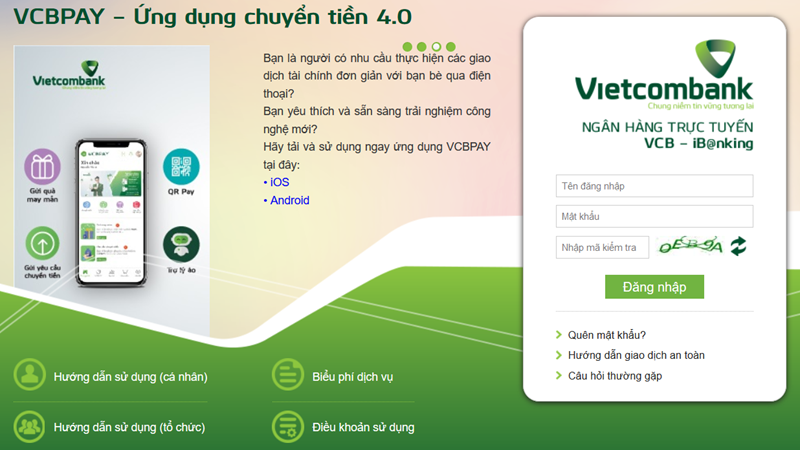 Thanh toán hiện đại cùng Vietcombank đẩy lùi đại dịch COVID-19