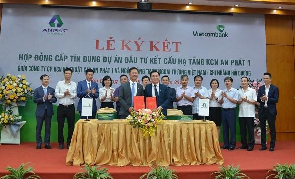 Vietcombank Hải Dương cấp tín dụng 1.200 tỷ đồng cho Dự án Khu công nghiệp An Phát 1