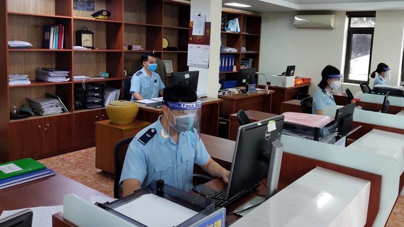 Hải quan Quảng Ninh triển khai đo giải phóng hàng lần 1 năm 2020