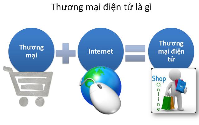 Để phát triển và quản lý hiệu quả thương mại điện tử