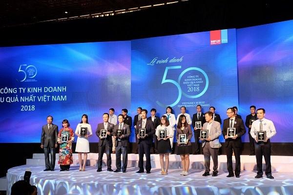 Vietcombank dẫn đầu các ngân hàng trong danh sách doanh nghiệp tỷ USD hiệu quả nhất Việt Nam