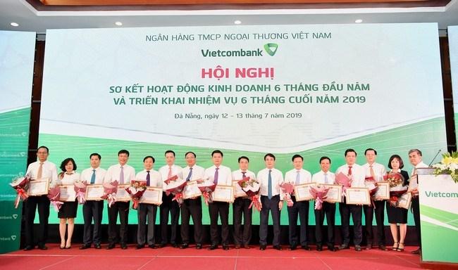 6 tháng đầu năm, lợi nhuận trước thuế của Vietcombank đạt 11.045 tỷ đồng