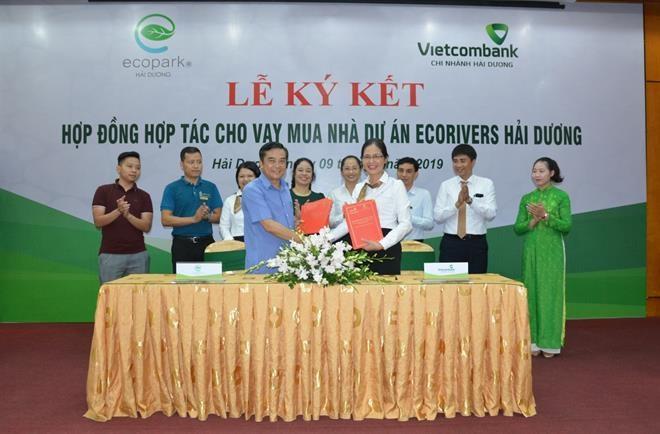 Vietcombank Hải Dương cam kết cho vay mua nhà Dự án Ecorivers