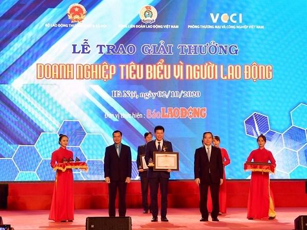 """Vietcombank - """"Doanh nghiệp tiêu biểu vì người lao động"""""""
