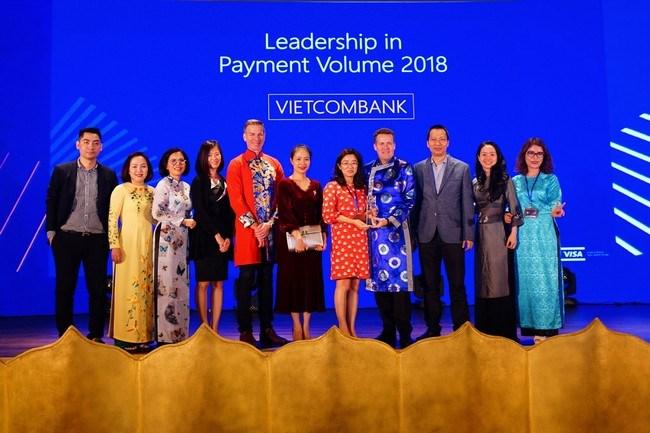 Vietcombank nhận nhiều giải thưởng lớn quốc tế