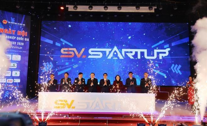 Vietcombank đồng hành cùng Ngày hội khởi nghiệp quốc gia học sinh, sinh viên 2020