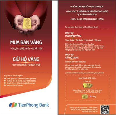 TienPhong Bank: Tiên phong sử dụng ứng dụng QR code