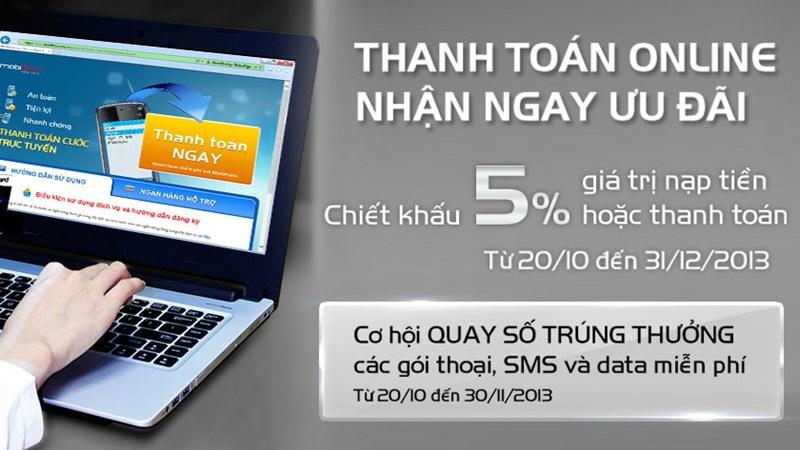 Ưu đãi tới 50% của MobiFone với khách hàng TienPhong Bank