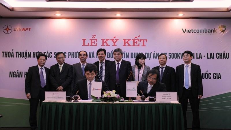 Vietcombank tài trợ vốn cho Dự án đường dây 500 KV Sơn La – Lai Châu