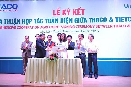 Vietcombank và Thaco ký kết hợp đồng tín dụng 4.500 tỷ đồng