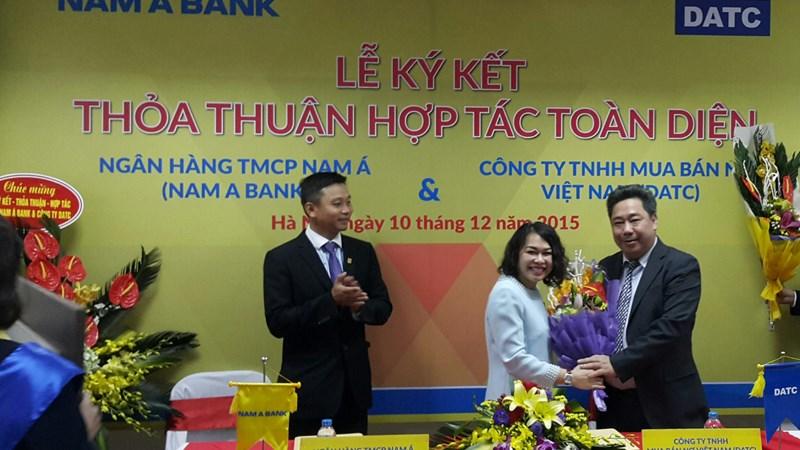 DATC và Ngân hàng TMCP Nam Á ký kết hợp tác toàn diện