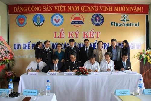 Triển khai địa điểm kiểm tra chuyên ngành tập trung tại Cảng Đà Nẵng
