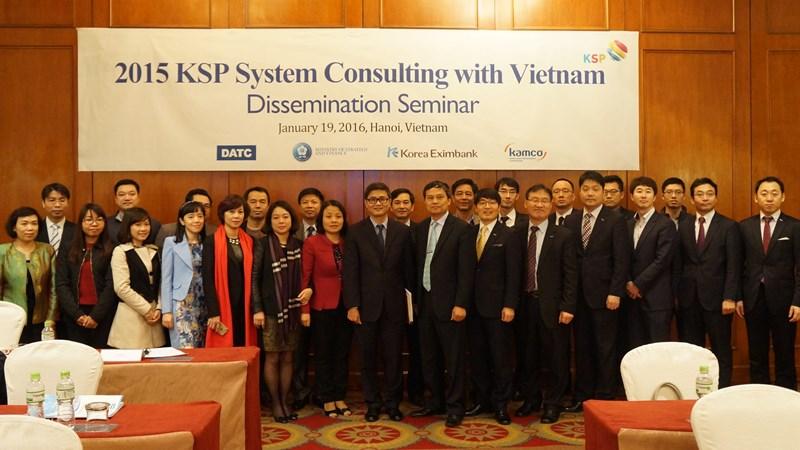 DATC và KAMCO tổ chức hội thảo KSP