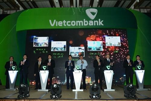 Vietcombank khai trương 5 chi nhánh tại TP.Hồ Chí Minh