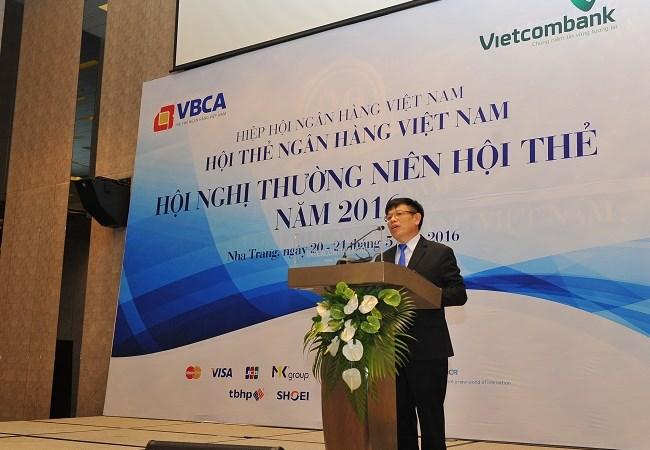 Vietcombank đăng cai, đồng tổ chức Hội nghị  thẻ ngân hàng năm 2016