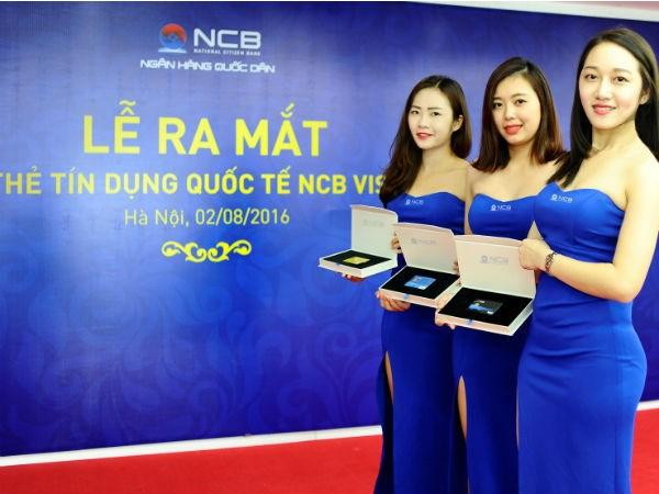 NCB ra mắt thẻ VISA