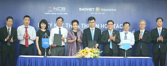 NCB hợp tác cùng Tổng công ty Bảo hiểm Bảo Việt