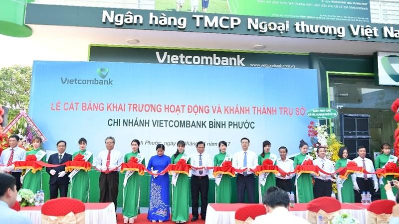 Vietcombank khai trương chi nhánh Bình Phước