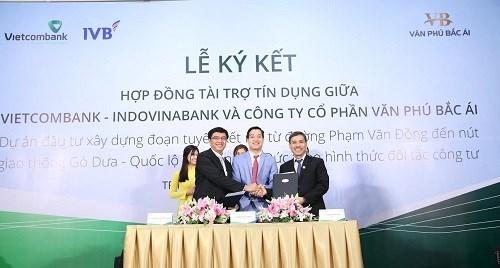 Vietcombank tài trợ 1.156 tỷ đồng mở rộng đô thị tại TP.Hồ Chí Minh