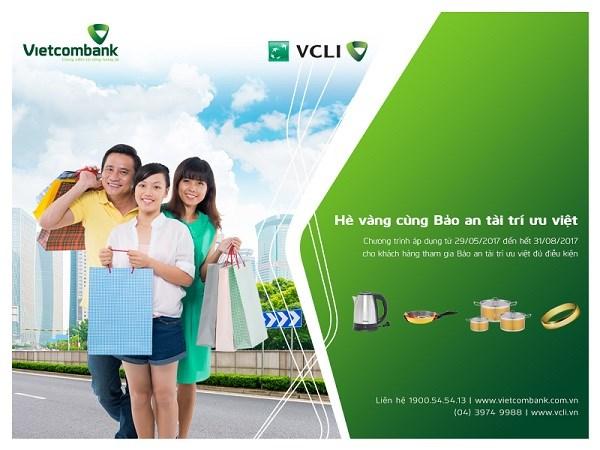 Hè vàng cùng Bảo an tài trí ưu việt của Vietcombank