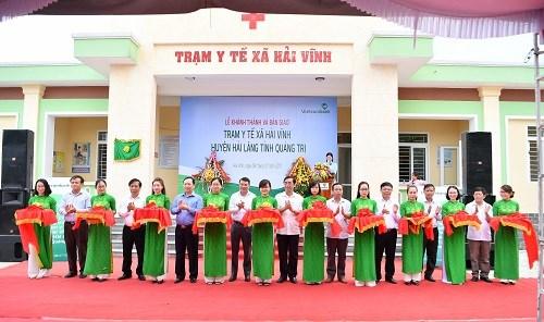 Vietcombank bàn giao Trạm y tế cho Quảng Trị
