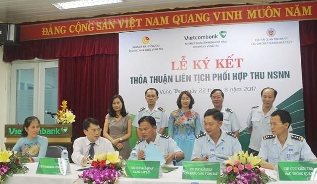 Vietcombank hợp tác thu ngân sách trên địa bàn tỉnh Bà Rịa - Vũng Tàu