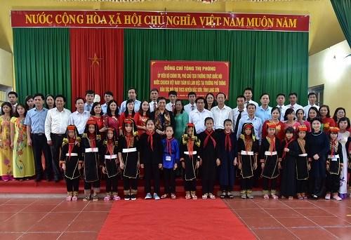 Vietcombank tặng 3 tỷ đồng xây trường mầm non tại Lạng Sơn