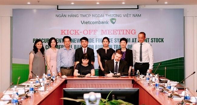 """Vietcombank khởi động dự án """"Trang bị hệ thống Trade Finance"""