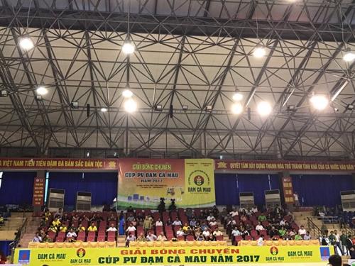 Khai mạc Giải bóng chuyền Siêu Cup PV - Đạm Cà Mau 2017