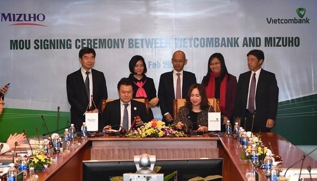 Vietcombank và Ngân hàng Mizuho ký kết hợp tác nguồn vốn