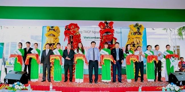 Vietcombank Khánh Hòa khai trương Phòng giao dịch tại huyện Vạn Ninh