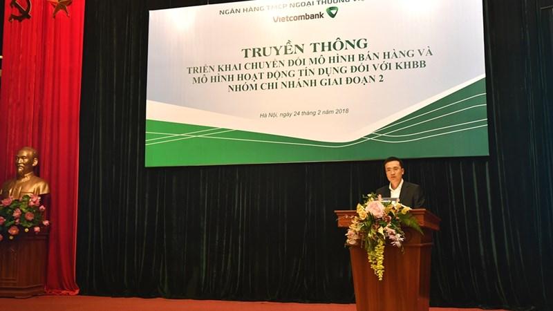 Vietcombank đẩy mạnh truyền thông triển khai giai đoạn 2 mô hình CTOM