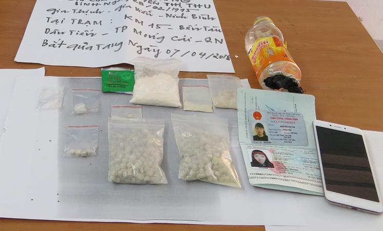Hải quan Quảng Ninh: Bắt giữ đối tượng vận chuyển chất nghi là ma túy