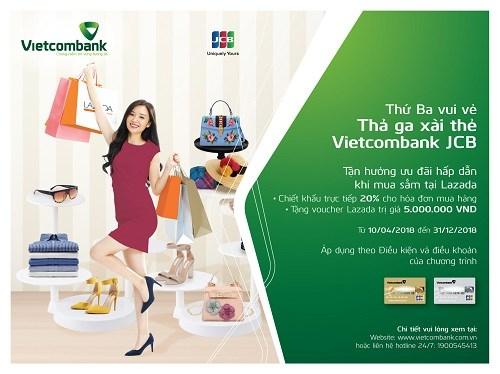Ưu đãi hấp dẫn dành cho chủ thẻ Vietcombank JCB