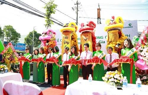 Vietcombank khai trương hoạt động chi nhánh Bắc Gia Lai