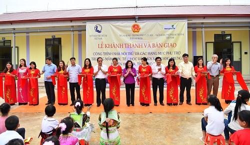 Vietcombank tài trợ 5 tỷ đồng xây trường học tại Cao Bằng