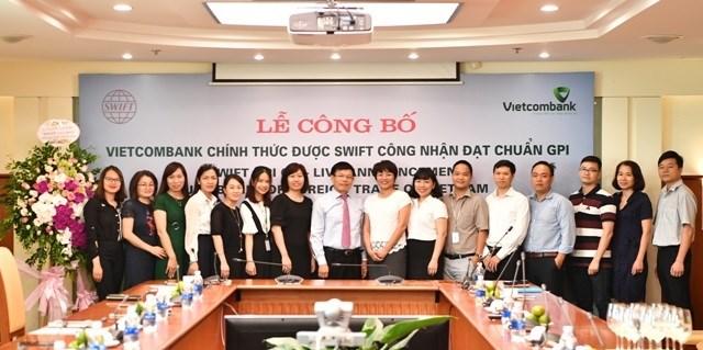 Vietcombank trở thành ngân hàng GPI đầu tiên tại Việt Nam