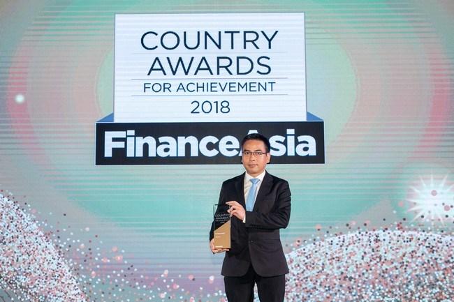 Vietcombank nhận giải thưởng