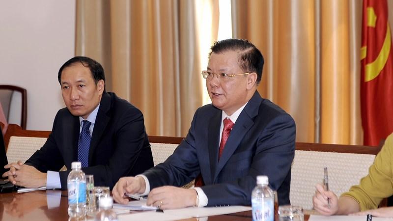 Vương quốc Anh sẵn sàng hỗ trợ Việt Nam hoàn thiện khung chính sách về thị trường tài chính