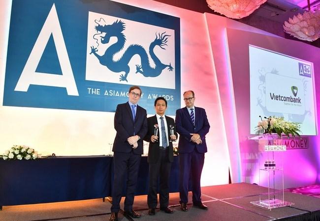 Vietcombank nhận nhiều giải thưởng lớn