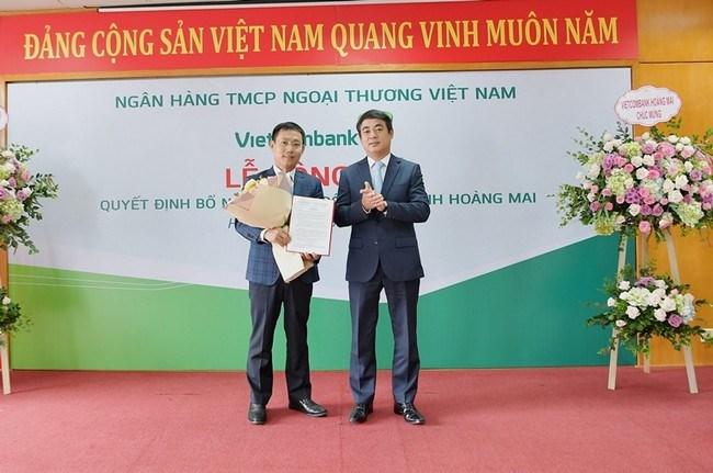 Vietcombank bổ nhiệm Giám đốc chi nhánh Hoàng Mai