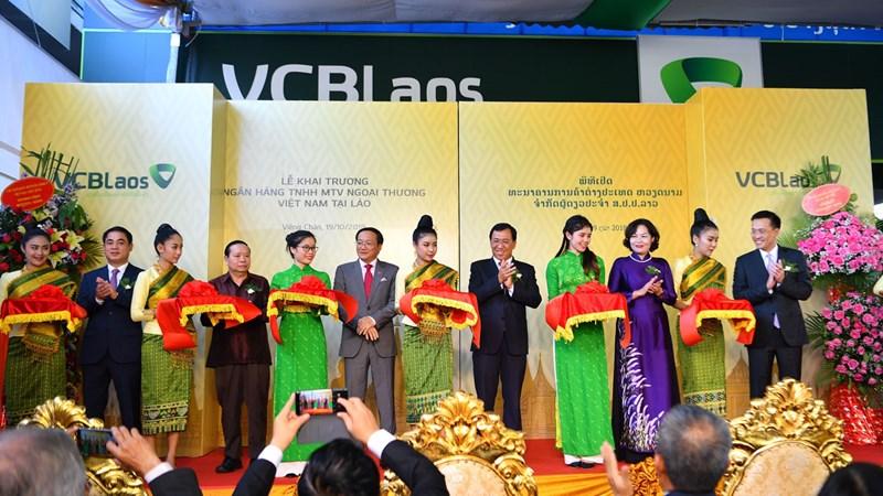 Khai trương hoạt động Vietcombank Lào