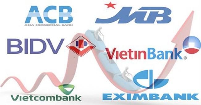Phiên sáng 13/1: Nhóm ngân hàng bị chốt lời, VN-Index rung lắc