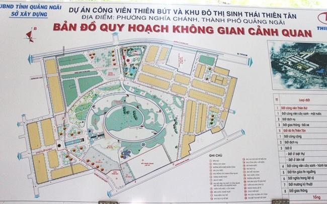 """Quảng Ngãi """"phanh"""" 2 dự án đầu tư theo hình thức BT"""