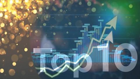 Top 10 cổ phiếu tăng/giảm mạnh nhất: Nhóm ngân hàng và thép rực sáng