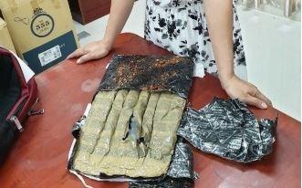 Hải quan Mộc Bài phối hợp bắt giữ 5kg ma túy đá