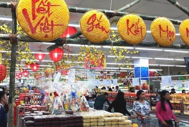 Hà Nội: Gần 12.000 điểm bán hàng bình ổn Tết được triển khai