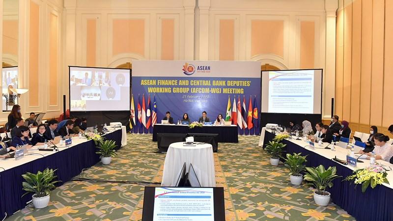 Bộ Tài chính phối hợp tổ chức chuỗi Hội nghị Nhóm công tác kênh hợp tác tài chính ASEAN